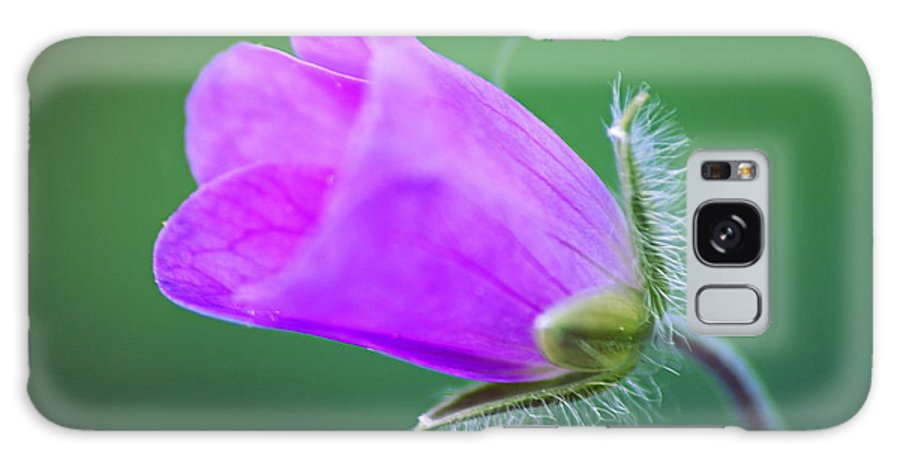 Geranium Galaxy S8 Case featuring the photograph Geranium Budding Out by Larry Ricker