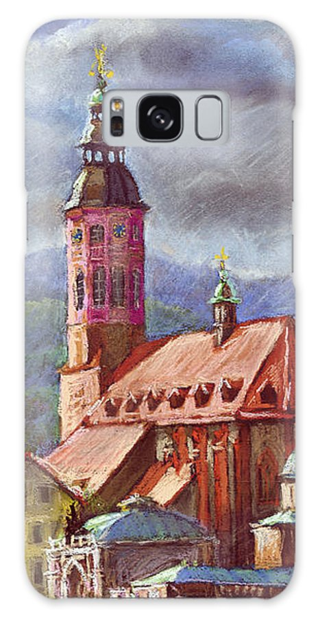 Pastel.germany Galaxy S8 Case featuring the painting Germany Baden-baden 05 by Yuriy Shevchuk