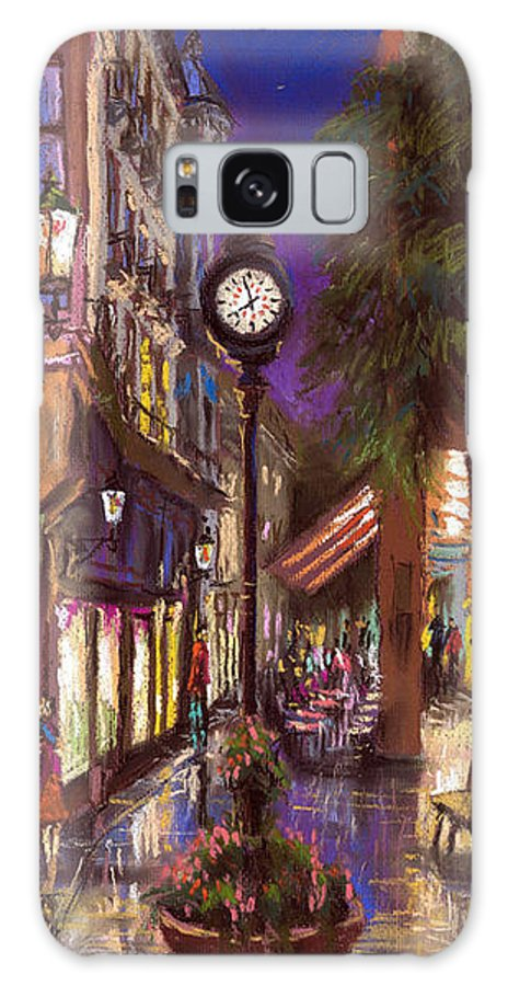 Pastel Galaxy Case featuring the painting Germany Baden-baden 11 by Yuriy Shevchuk