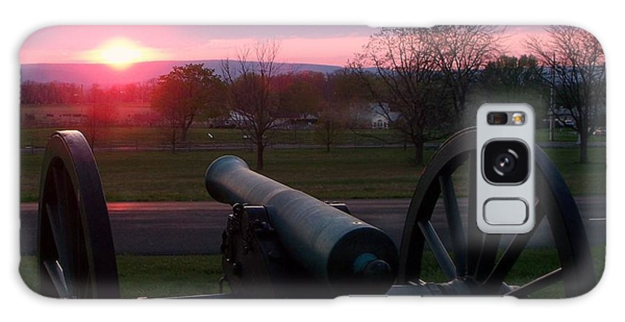 Gettysburg Cannon Galaxy S8 Case featuring the painting Gettysburg Cannon by Eric Schiabor