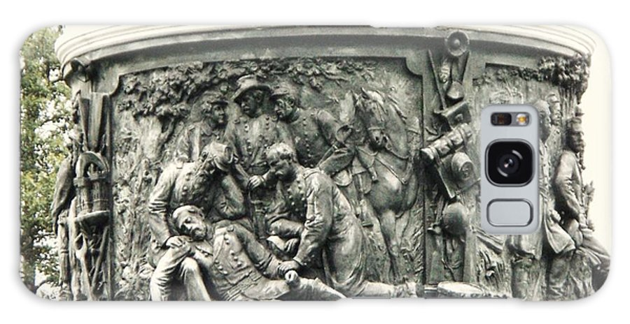 Gettysburg Galaxy S8 Case featuring the photograph Gettysburg Monument by Eric Schiabor