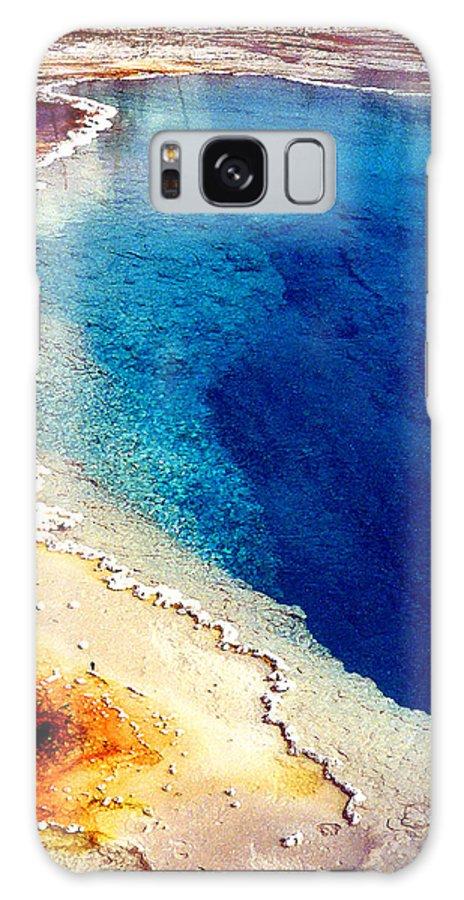 Geyser Galaxy S8 Case featuring the photograph Geyser Basin by Nancy Mueller