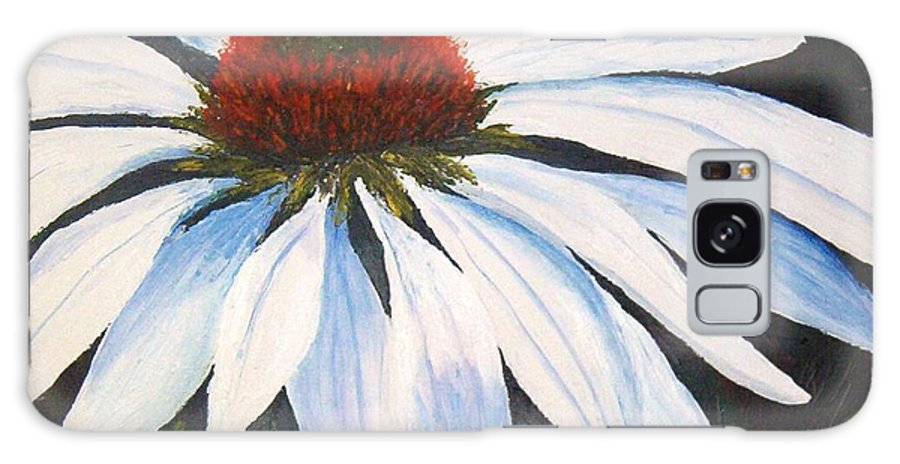 Cone Flowers Galaxy S8 Case featuring the painting Ghost Cone by Tami Booher