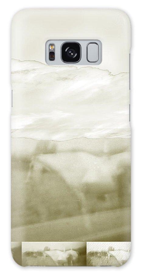 Colorado Galaxy Case featuring the digital art Ghost Horse Colorado by Ann Tracy