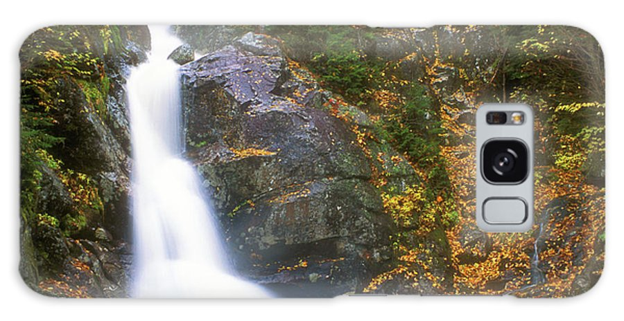 New Hampshire Galaxy S8 Case featuring the photograph Gibbs Falls Presidential Range by John Burk