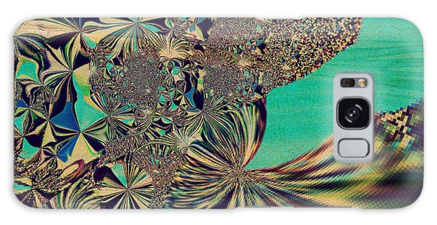 Flower Galaxy S8 Case featuring the digital art Gift by Beth Aragon