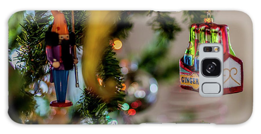 Ginger Ale Six-pack On Christmas Tree Galaxy S8 Case featuring the photograph Ginger Ale On Christmas Tree 4392 by Doug Berry