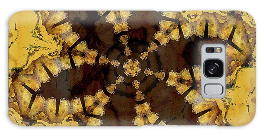 Digital Art Galaxy S8 Case featuring the digital art Gingerbread by Bonnie Bruno