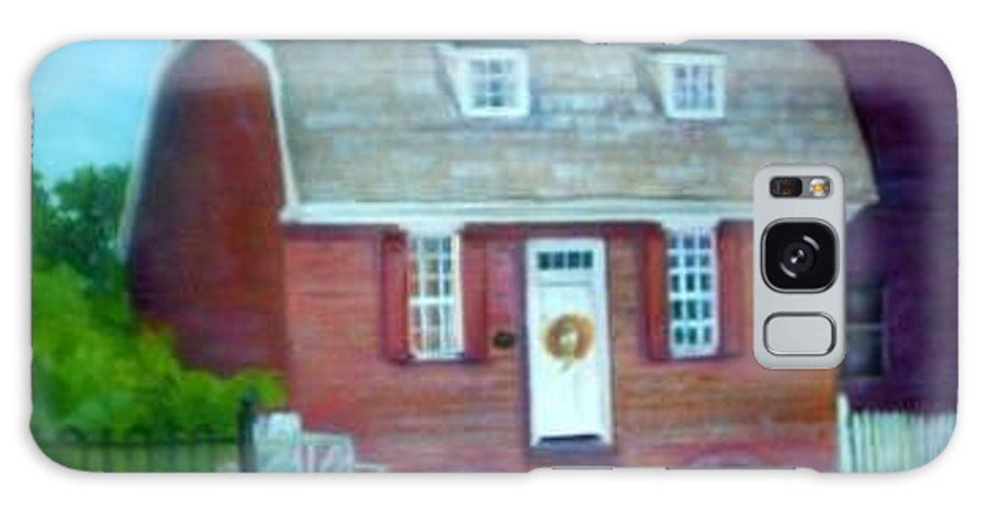 Revell House Galaxy S8 Case featuring the painting Gingerbread House by Sheila Mashaw