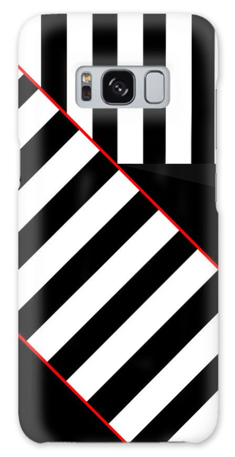 Galaxy S8 Case featuring the digital art Ginza The Babel Legend by Asbjorn Lonvig
