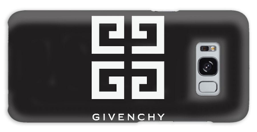 Givenchy Galaxy S8 Case featuring the digital art Givenchy - Black And White - Lifestyle And Fashion by TUSCAN Afternoon