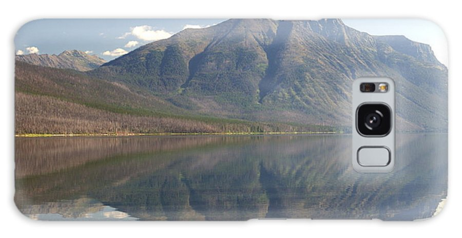 Glacier National Park Galaxy S8 Case featuring the photograph Glacier Reflection1 by Marty Koch