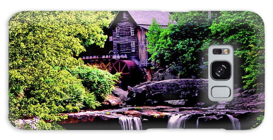 Glade Creek Grist Mill Galaxy S8 Case featuring the photograph Glade Creek Grist Mill 004 by George Bostian