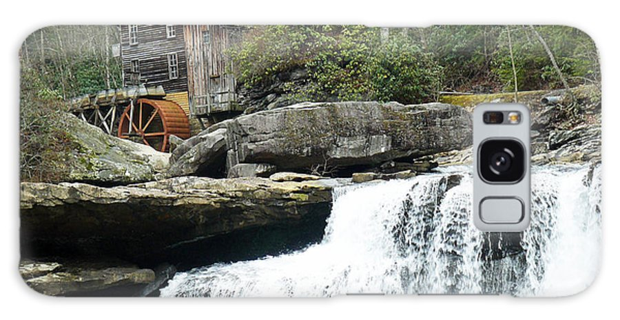 Water Falls Galaxy S8 Case featuring the photograph Glade Creek Grist Mill In Color by Jack Paolini
