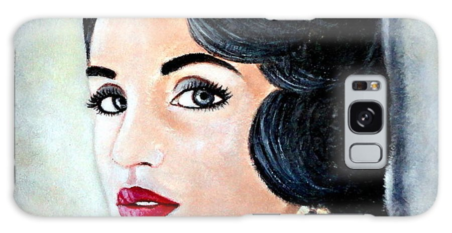 Art Galaxy S8 Case featuring the painting Glamour - 12 by Carmen Junyent