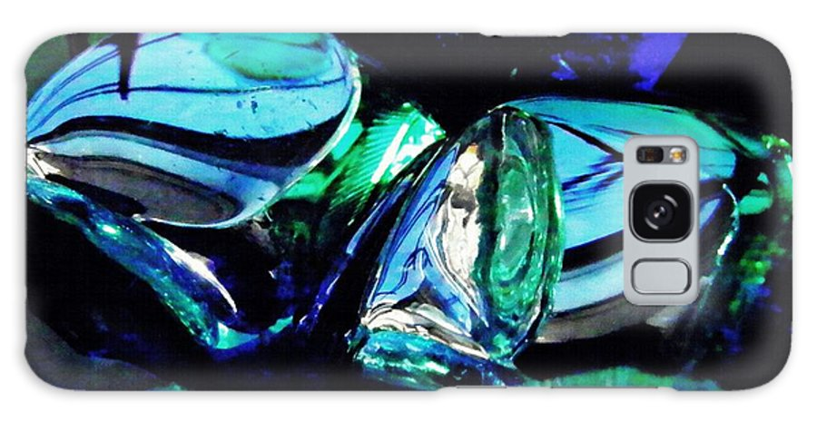 Glass Galaxy S8 Case featuring the photograph Glass Abstract 141 by Sarah Loft