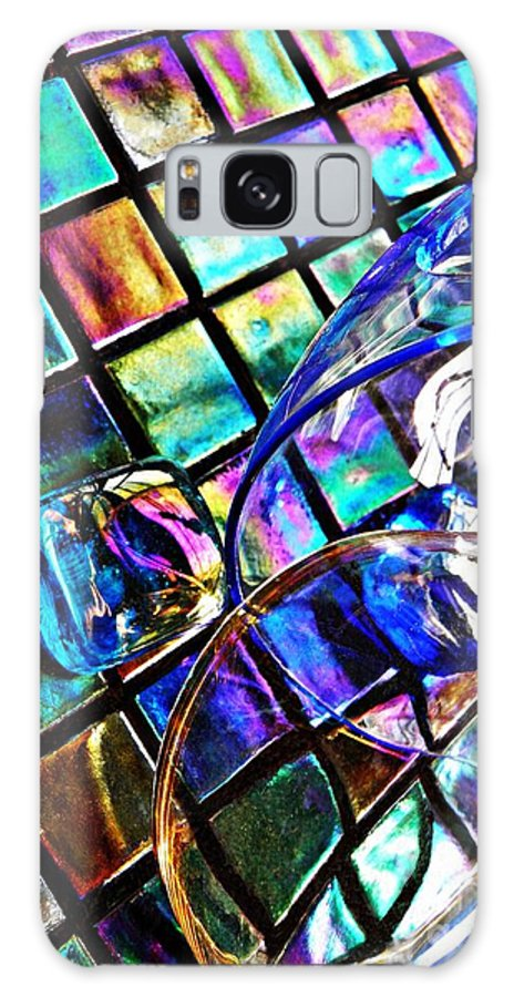 Glass Galaxy S8 Case featuring the photograph Glass Abstract 696 by Sarah Loft