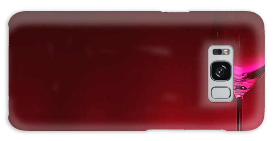 Wine Galaxy Case featuring the digital art Glass Of Wine by Abhijeet Dhidhatre