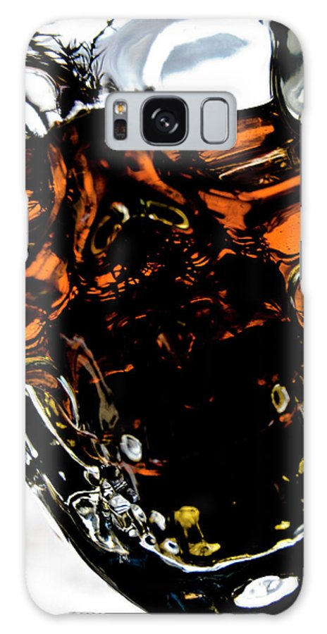 Glass Galaxy S8 Case featuring the photograph Glass Skull I by Grebo Gray
