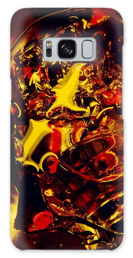 Abstract Galaxy S8 Case featuring the photograph Glassman by David Rivas