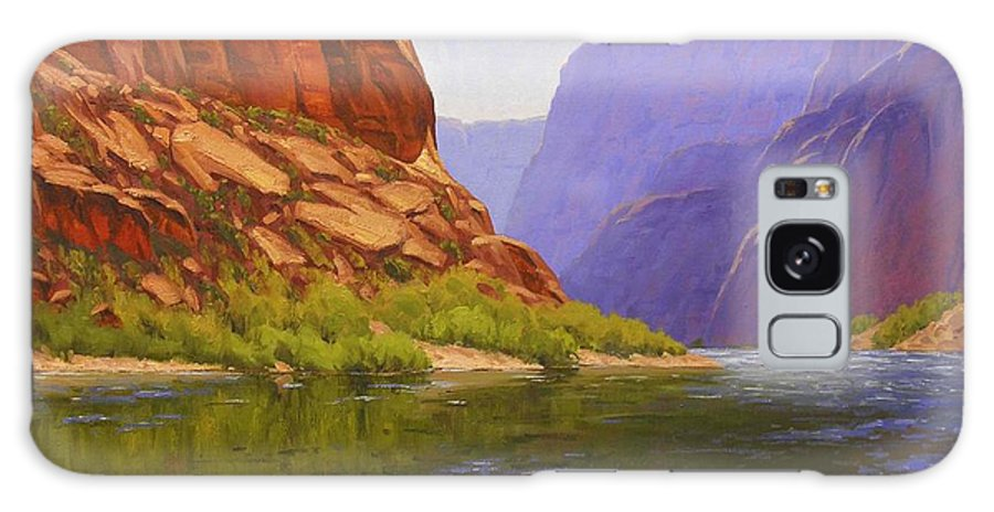 Cody Delong Galaxy S8 Case featuring the painting Glen Canyon Morning by Cody DeLong