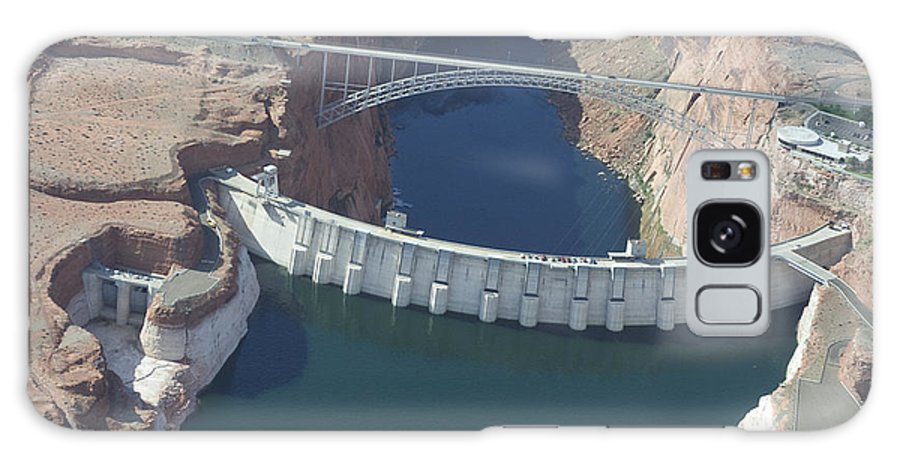 Colorado River Galaxy S8 Case featuring the photograph Glen Echo Dam by Carl Purcell