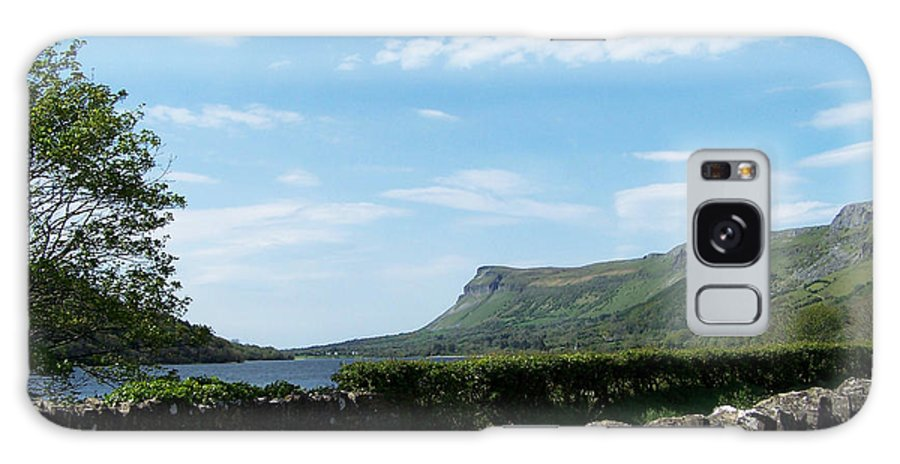 Irish Galaxy S8 Case featuring the photograph Glencar Lake With View Of Benbulben Ireland by Teresa Mucha