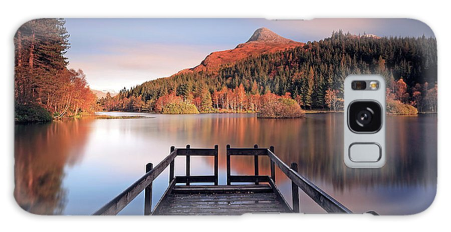 Loch Galaxy S8 Case featuring the photograph Glencoe Lochan by Grant Glendinning