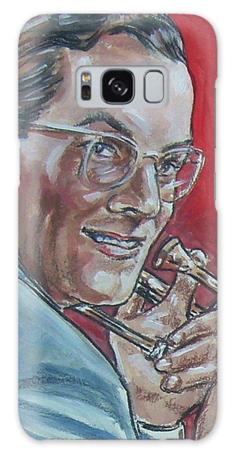 Glenn Miller Galaxy S8 Case featuring the painting Glenn Miller by Bryan Bustard