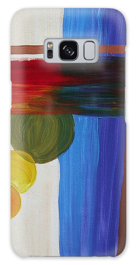 Global Warming Galaxy S8 Case featuring the painting Global Warming by Arlene Wright-Correll