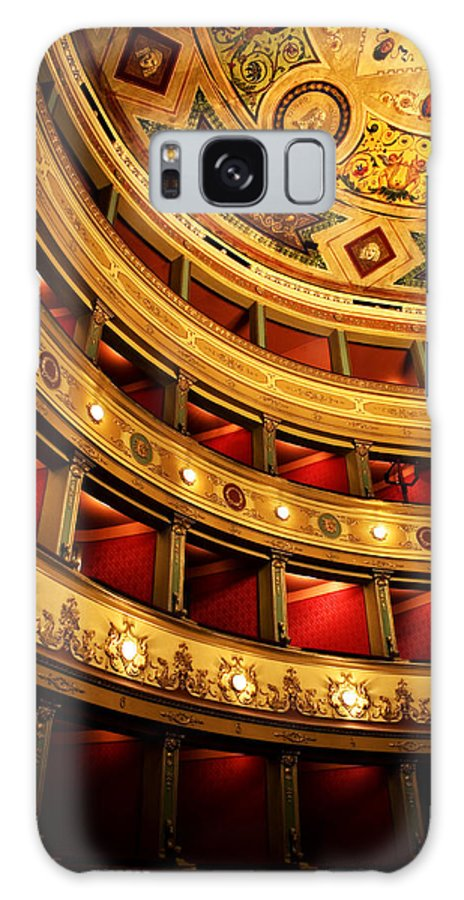 Theatre Galaxy Case featuring the photograph Glorious Old Theatre by Marilyn Hunt