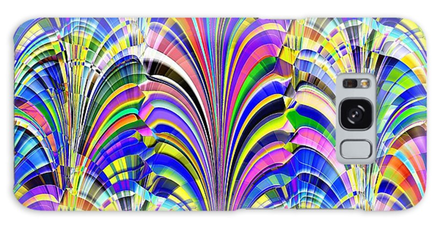 Abstract Galaxy S8 Case featuring the digital art Glorious by Tim Allen