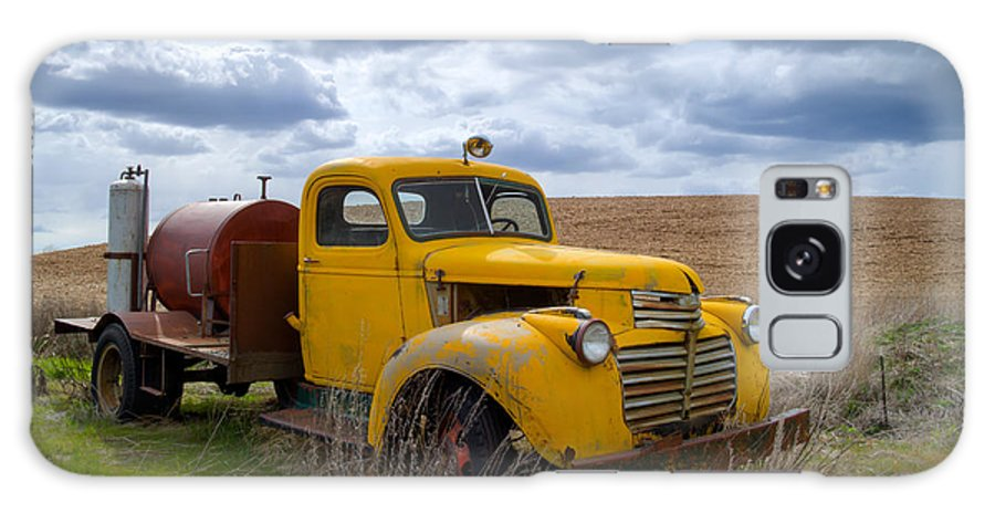 Gmc Galaxy S8 Case featuring the photograph Gmc Yellow by Idaho Scenic Images Linda Lantzy