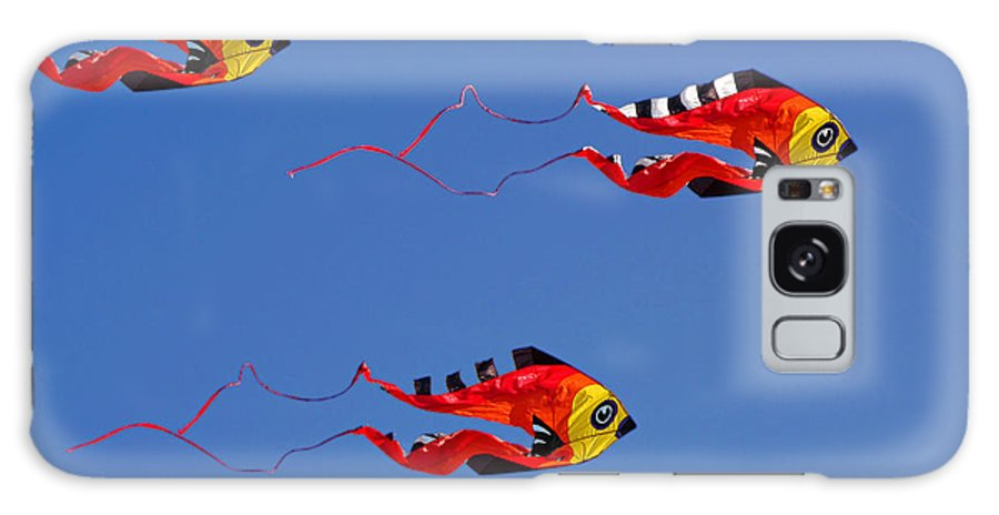 Clay Galaxy Case featuring the photograph Go Fly A Kite by Clayton Bruster