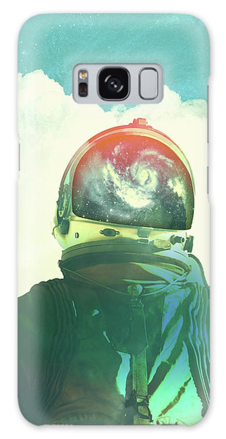 Collage Galaxy S8 Case featuring the photograph God Is An Astronaut by Fran Rodriguez