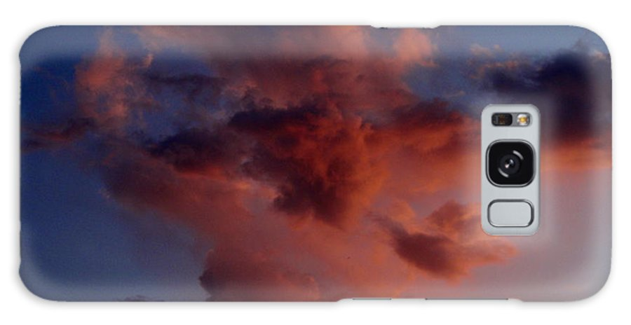 Red Galaxy S8 Case featuring the photograph Godzilla Cloud-debbie-may by Debbie May