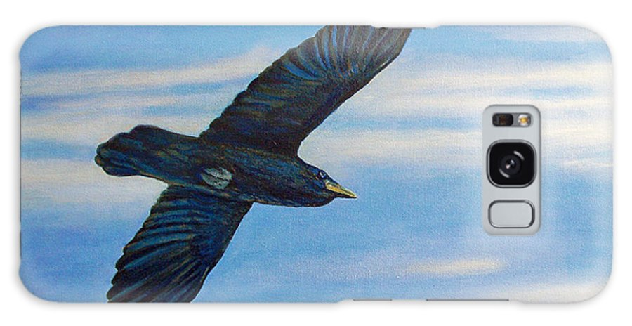 Bird Galaxy Case featuring the painting Going Home by Brian Commerford
