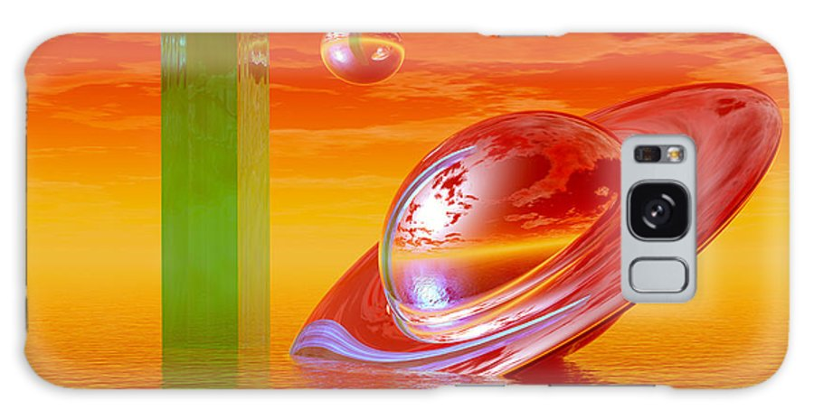 Bryce Galaxy S8 Case featuring the digital art Going Home by Sandra Bauser Digital Art