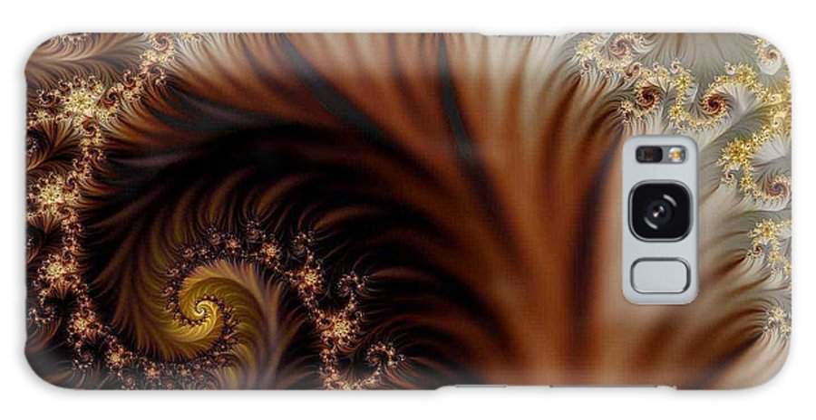 Clay Galaxy Case featuring the digital art Gold In Them Hills by Clayton Bruster