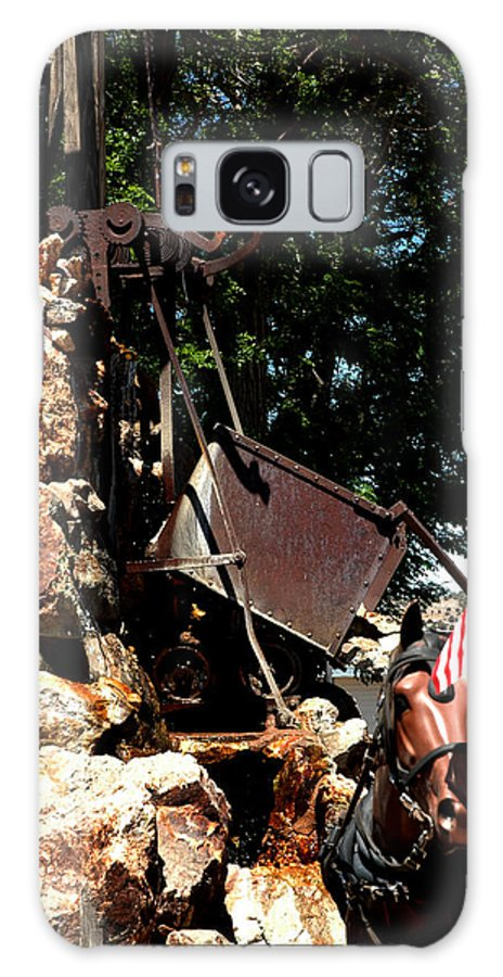 Usa Galaxy S8 Case featuring the photograph Gold Mining Virginia City Nv by LeeAnn McLaneGoetz McLaneGoetzStudioLLCcom