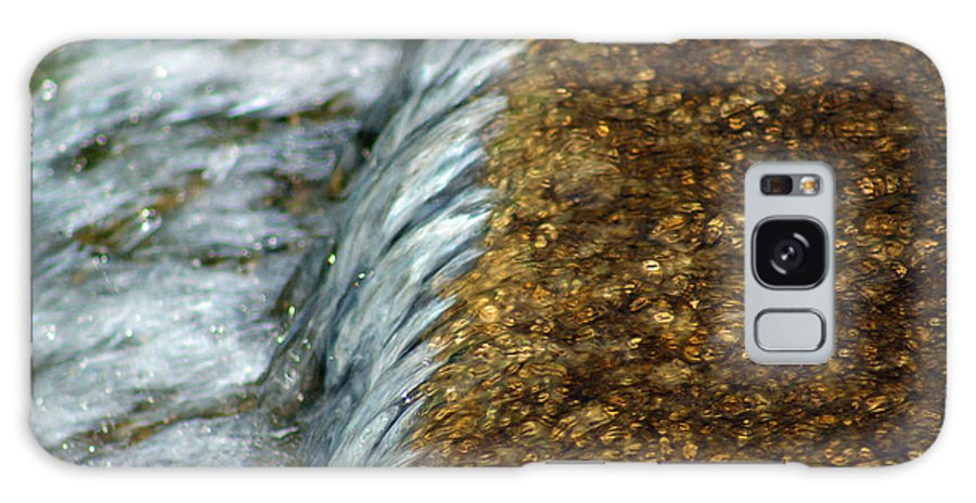 Gold Galaxy S8 Case featuring the photograph Gold Rush Abstract by Karen Adams