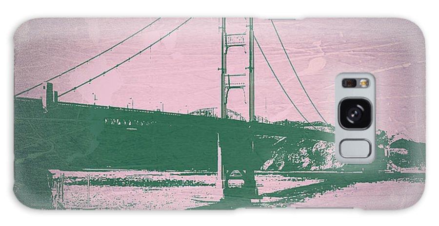 Galaxy S8 Case featuring the photograph Golden Gate Bridge by Naxart Studio