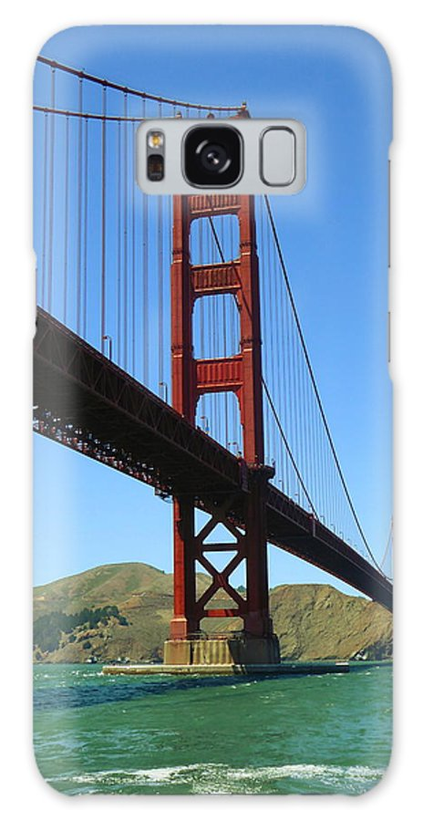 San+francisco Galaxy S8 Case featuring the photograph Golden Gate Bridge San Francisco by Peter Potter