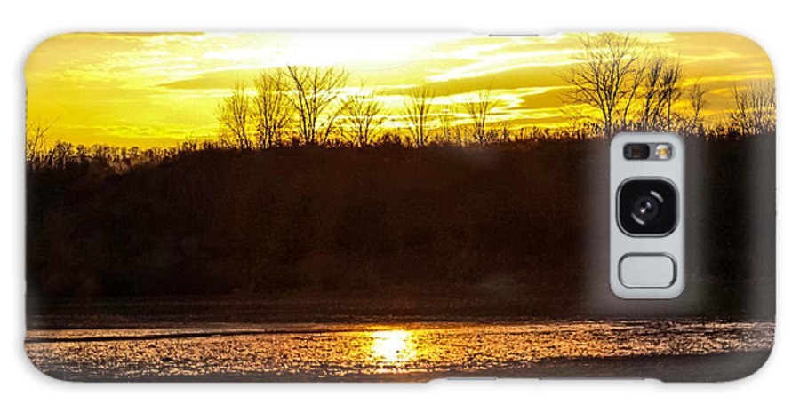 Sunset Galaxy S8 Case featuring the photograph Golden Sunset by Tonya Peters