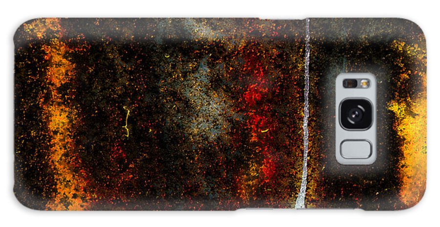 Texture Galaxy S8 Case featuring the photograph Golden Texture by Grebo Gray