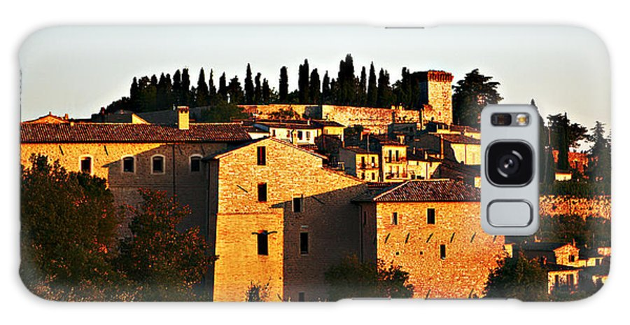 Church Galaxy S8 Case featuring the photograph Golden Town by Marilyn Hunt