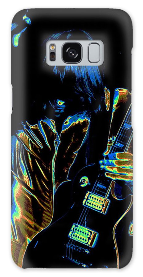 Rock Images Galaxy S8 Case featuring the photograph Good Guitar Vibrations by Ben Upham
