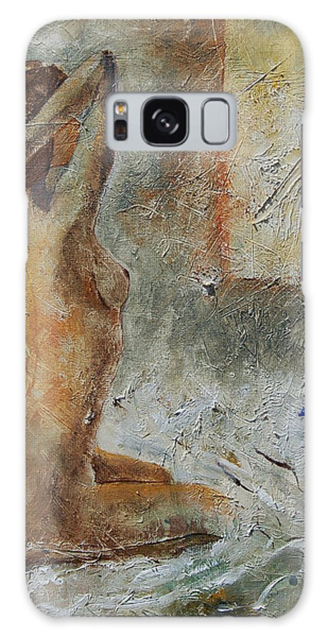 Nude Galaxy S8 Case featuring the painting Good Morning Sunshine by Pol Ledent
