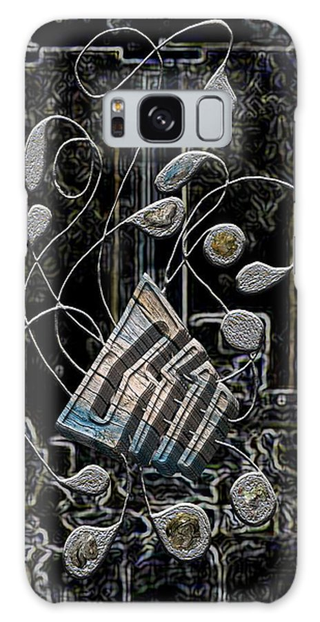 Legend Galaxy S8 Case featuring the digital art Gordian Harp by Mark Sellers