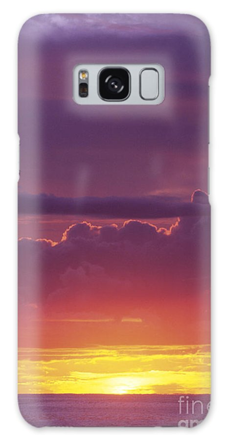 Afternoon Galaxy S8 Case featuring the photograph Gorgeous Sunset by Carl Shaneff - Printscapes